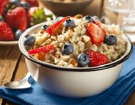 Overnight Oatmeal for breakfast
